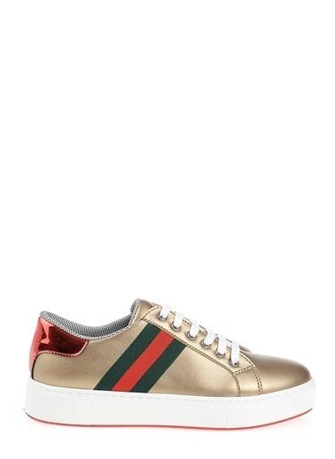 Derigo Derigo 6377 Şerit Kadın Casuel Ayakkabı Altın